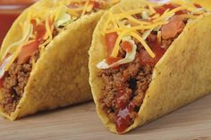 All American Taco recipe by Ruchira Hoon at BetterButter How To Make Dough, How To Make Taco, Veggie Recipes, Mexican Food Recipes, Cooking Recipes, American Taco Recipe, Tacos And Burritos, Indian Breakfast, Empanadas