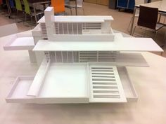 Maquette ''Falling Water'' F.L. Wright_1