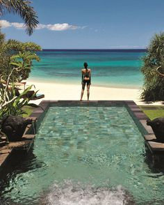 #DestinAsianRCA2017: The view from a beachfront plunge pool at Shangri La's Boracay Resort & Spa voted Best Hotel in the Philippines by our readers. More on@shangrilaboracay and our RCA results at http://ift.tt/2jmiQ72 @shangrilahotels #MyShangriLaBoracay #Shangrila #Philippines #Travel #Luxury