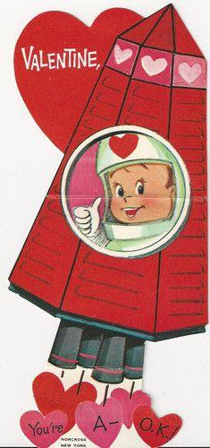 Vintage Valentine's Day card....