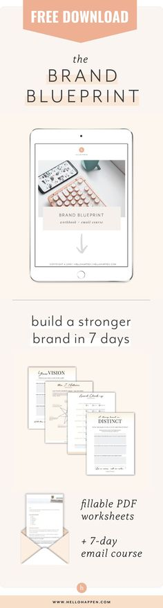 Grab my Free Brand Blueprint to level up your marketing and claim EXPERT status in your industry! Let's build your inspired brand and show the world what you stand for, and the impact you're here to make. Learn the 7 essentials for building a stand-out brand, and follow the 7-day email course to apply them to YOUR business. // brand strategy / boss babe tips / marketing tips / thought leadership / authentic brand message / #brandstrategy #marketingstrategy