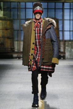 DSquared2 Autumn/Winter 2017 Menswear. Dsquared2Winter 2017Men's Style Fashion ...