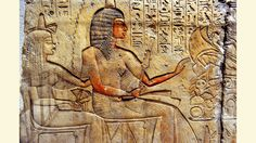 https://flic.kr/p/8GbpbQ   2010_0925_130120AA NEUES MUSEUM, BERLIN   Riy and his wife Maya in front of the offering table with priests. Detail. New Kingdom. 18th-19th dynasty. 1320-1290 BC. From Memphis/ Saqqara. Limestone. Neues Museum, Berlin.  Without doubt one of the best Egyptian Museums in the world ! And photography without flash is allowed in almost all its rooms.  Link to the website of the museum: www.neues-museum.de/