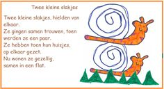 Twee kleine slakjes - opzegversjes - digibordonderbouw.nl