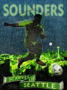 #MLSSoccer #TrueColors - Seattle Sounders - Travis Baechler