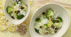 Brokkoli-Rahm-Kartoffeln: Brokkoli ist mit Folsäure, Vitamin K, B2 und B6 ein wahres Vitamin-Wunder.