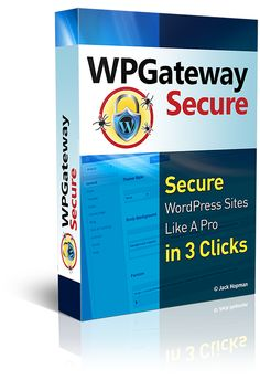 WP GateWay Secure By Jack Hopman Review : Best Secure WordPress Sites Like A Pro in 3 Clicks, In Fact 73.2% of WordPress Sites Are Vulnerable To Being Hacked, It's Extreme and Danger!