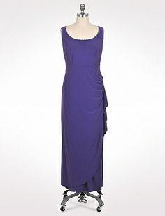 Plus Size | Dresses | Special Occasion Dresses | Plus Size Crystal Trim Jacket Dress | dressbarn