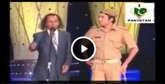 Amanullah Khan Funny Clip on Indian Stage - Social Dunya News