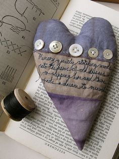 ~ Cathy Cullis  I really like buttons & hearts.  Great to show wonderful buttons...