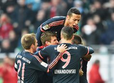 @FCBayern FC Bayern München mit Arbeitssieg beim VfL Wolfsburg #9ine