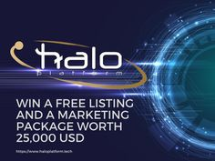 Halo Platform is officially releasing a new campaign on Telegram, your favorite project can win a FREE listing on Halo Platform and a marketing package valued at USD. Once the competition has… Email Campaign, Gd, Blockchain, Announcement, Halo, Competition, Encouragement, Join, It Cast
