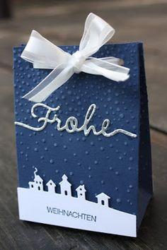 """Zauberhaft-handgemacht: Geschenktütchen """"Leise rieselt..."""""""