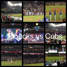 Dbacks vs Chicago Cubs.