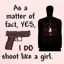 With both my 40 cal glock and my 12 gauge