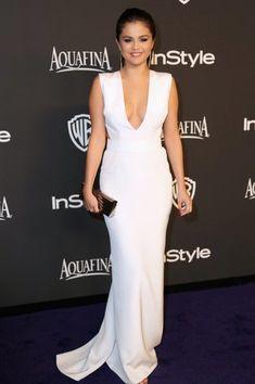 Selena Gomez InStyle Warner Bros Golden Globe