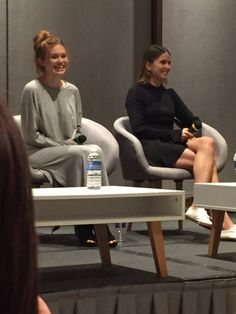 Holland Roden and Shelley Hennig at TWC3