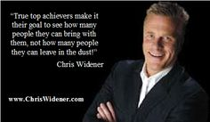 True achievers take people with them!