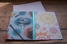 Music Theme Cards. Music Stationary. Music by 1OfAKindCrafts