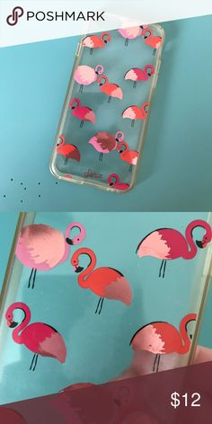 Flamingo print iPhone 6 case Used condition. Slight wear. Price reflects condition. Accessories Phone Cases