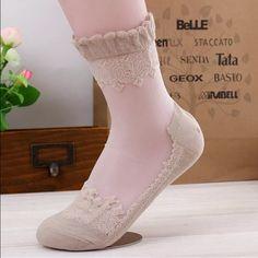 Beige sock Beige ankle sock, great with trousers Accessories Hosiery & Socks