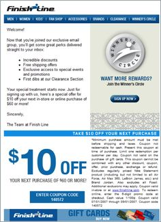 how to send unique coupon codes mailchimp