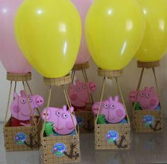 Peppa Pig Birthday Decorations, Peppa Pig Birthday Invitations, Pig Birthday Cakes, 2nd Birthday Party Themes, Girl 2nd Birthday, Peppa E George, Cumple Peppa Pig, Pig Party, Kids Party Themes
