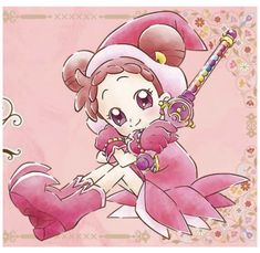 If you can call flowers your friends. Ojamajo Doremi, Old Anime, Big Love, Magical Girl, Sailor Moon, Art Drawings, Witch, Pokemon, Geek Stuff