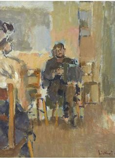 The Club Dance - Walter Sickert 1916 British 1860-1942 Oil on canvas, 51 x 40.5cm.; 20 x 16in.