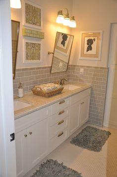 Kid's Bathroom at www.kelleymorrison.com