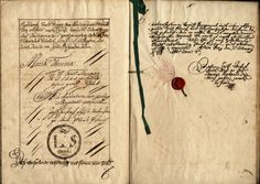 Book of Privileges. The signature of Hapsburg empress Maria Theresa appears on the body of ordinances governing Austrian Jews under her rule. Austria, 1754.