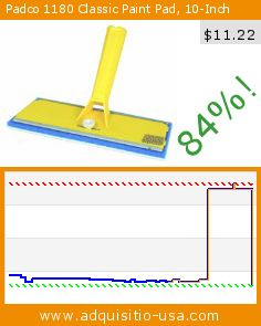 Padco 1180 Classic Paint Pad, 10-Inch (Tools & Home Improvement). Drop 84%! Current price $11.22, the previous price was $69.53. http://www.adquisitio-usa.com/padco-incorporated-usa/padco-1180-classic-paint