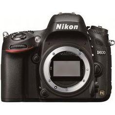 Nikon D600 - smallest full frame HDSLR on the market!