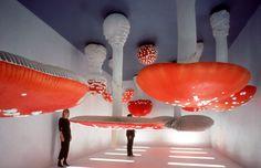 Carsten Höller #installation #mushroom #upsidedown
