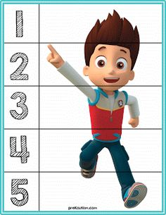 Paw Patrol Number Puzzles - Activities For Toddlers With Autism Paw Patrol Party, Paw Patrol Birthday, Numbers Preschool, Preschool Crafts, Autism Activities, Preschool Activities, Pete The Cat Buttons, Printable Board Games, Free Printable