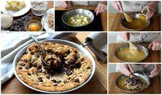 Cómo hacer una cookie gigante en la sartén