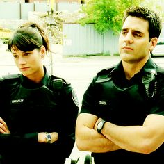 Sam and Andy - Rookie Blue