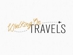 Walking On Travels - Logo / Blog Banner