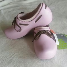 Crocs Pink Tilda W5 New with tag Buble Pink crocs Shoes