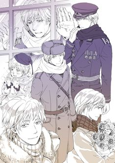 Big (And good looking) Russia in his many outfits. (Bloody Sunday, 'We can't have children who don't play nice, da?')
