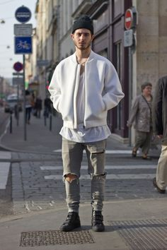 Street and shredded... || Streetstyle Inspiration for Men! #WORMLAND Men's Fashion