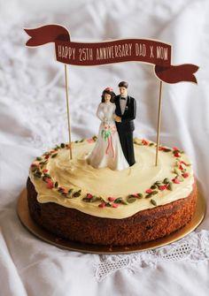 Wedding Anniversary Cake 3