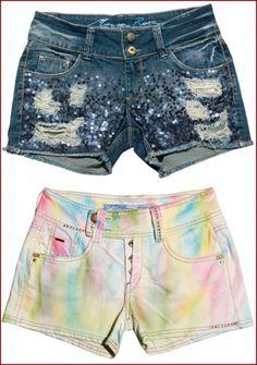 Shorts Customizados                                                                                                                                                                                 Mais