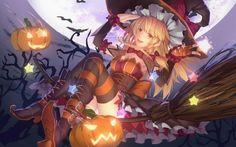 #Halloween #Sorcière #Dessin akanoe #Manga