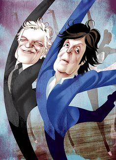 Peter Martin & Paul McCartney