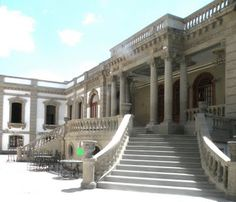 Casa Lamm, Colonia Roma, D.F. Finished in 1911, nowadays it is a Cultural Centre, where you can also find restaurants.