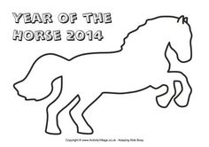 Year of the Horse frame