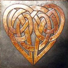 Celtic heart for my love