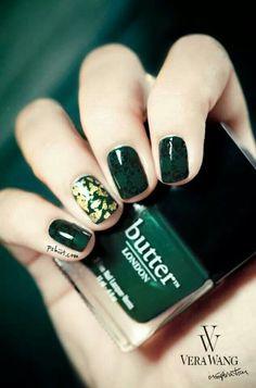 Fall nail color.