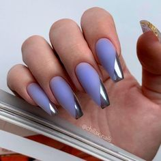 Magnetic Purple Coffins With French ❤ 35+ Magnificent Coffin Nails Designs You Must Try ❤ See more ideas on our blog!! #naildesignsjournal #nails #nailart #naildesigns #nailshapes #coffinnails #balerinanails #coffinnailshapes Summer Nails, Coffin Nails, Nail Designs, Beauty, Summery Nails, Long Fingernails, Nail Desings, Summer Nail Art, Beauty Illustration